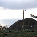 Debris pile at the bankrupt PR Springs tar sands mine. A new oil train could make dirty fuels like tar sands profitable.