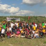Indigenous leaders from First Nations across Canada gather at Tar Sands Healing Walk
